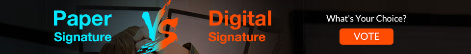 Paper vs Digital Signature
